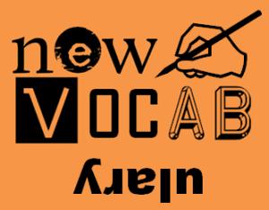 new vocab logo use