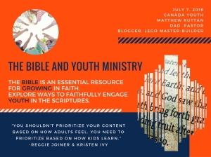 the bible and youth ministry