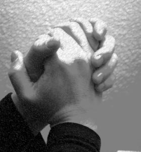 pray hand mr