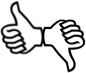 thumbs up values
