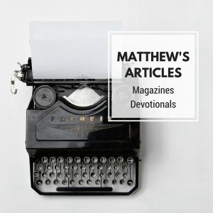 matthew's podcasts