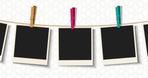 picture frames polaroids
