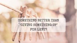 Something better than